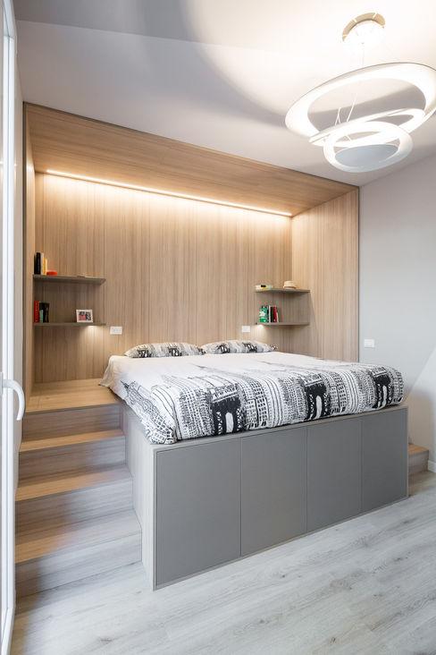 LETTO CONTENITORE Bergo Arredi Camera da letto moderna