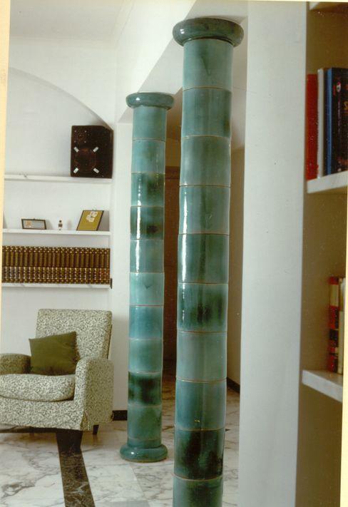 Ceramic Columns ARTE DELL'ABITARE 家居用品配件與裝飾品 Multicolored