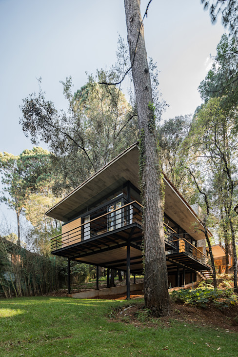Casa Luzia Saavedra Arquitectos Casas modernas