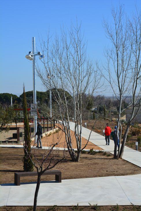 Jardín del Suspiro scs arquitectura Jardines de estilo mediterráneo
