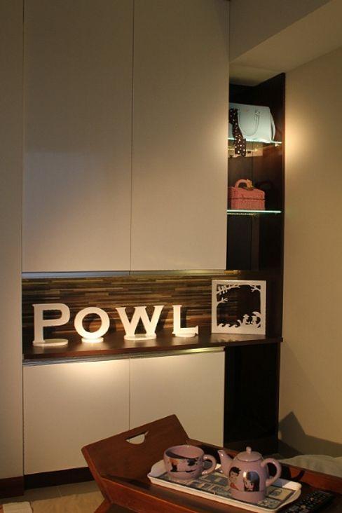 POWL Studio Habitaciones de estilo ecléctico