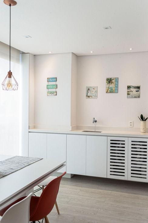 Mirá Arquitetura Balkon Marmer White