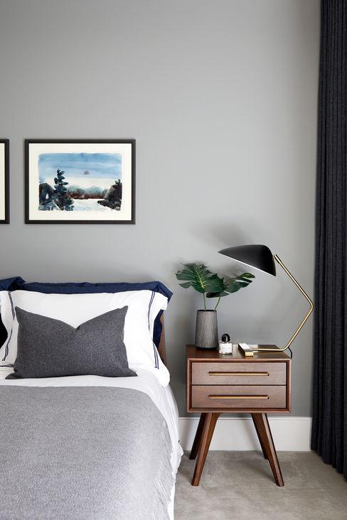 Benson House - Master Bedroom Sandra Flashman Studio Kamar Tidur Modern