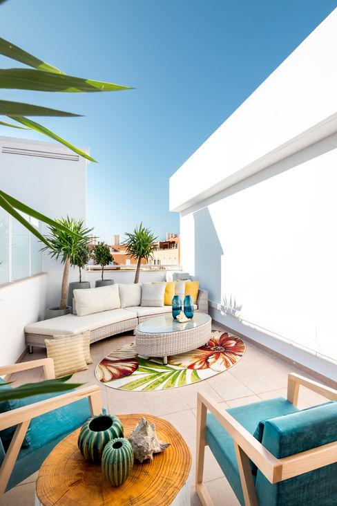 Roof Top Formosa Victor Guerra.Design Varandas, marquises e terraços mediterrânicos
