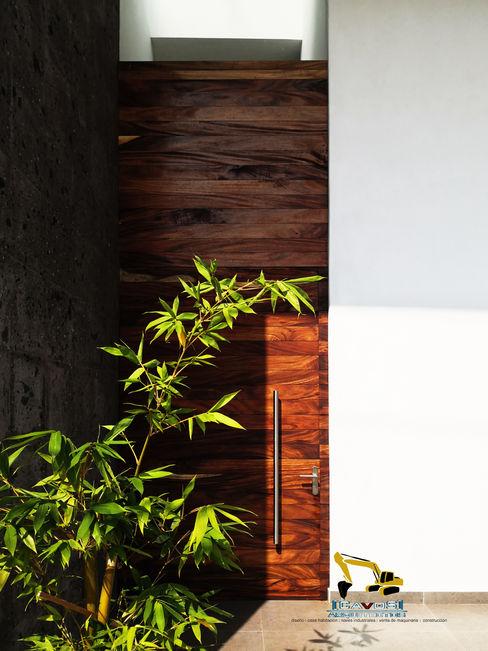 Casa Silos Cavos Arquitectos Puertas de madera Acabado en madera