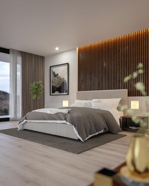 zen58 Modern style bedroom