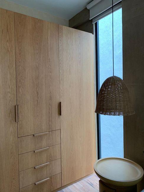 Clóset recámara MOKALI Carpintería Residencial Dormitorios modernos