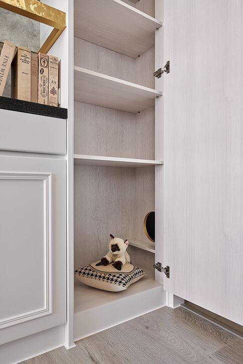 貓咪窩 趙玲室內設計 書房/辦公室