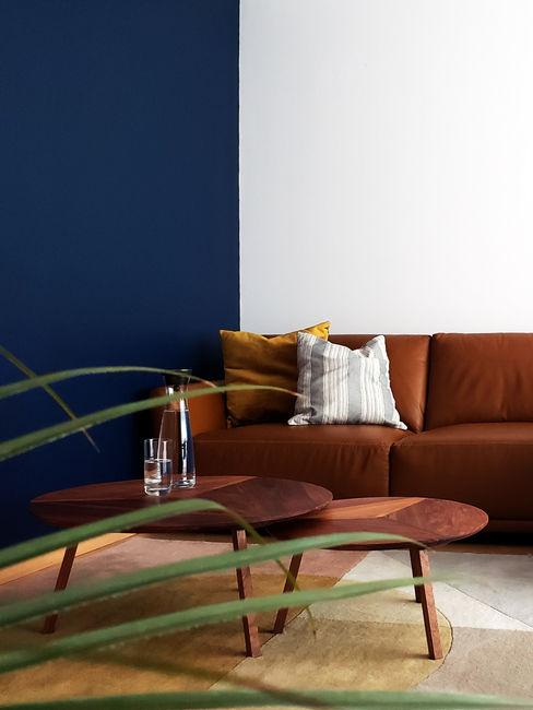 Sala M+A Sentido Arquitectura Salones minimalistas Multicolor