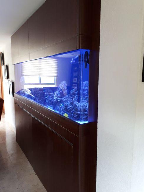 Alfquarium Living room Wood-Plastic Composite Wood effect