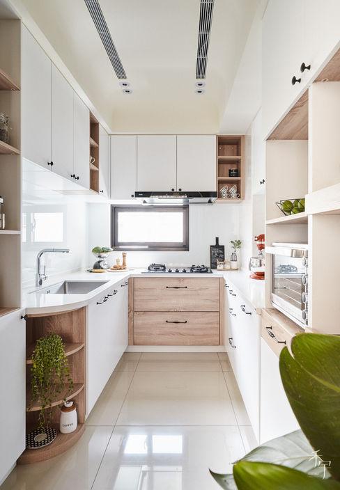 廚房 禾宇室內設計 系統廚具 MDF Wood effect