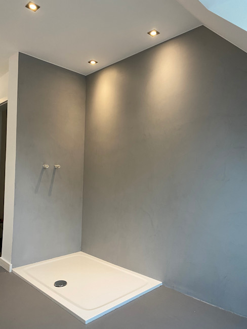 Fugenloses Badezimmer (Nachher) Wandwerk