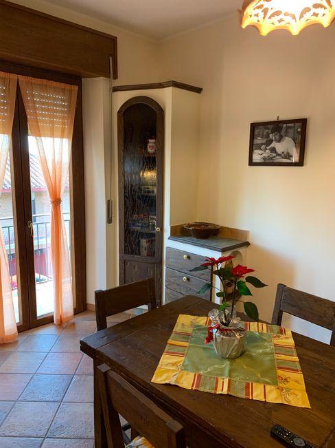 Cucina in castagno piallato a mano il falegname di Diego Storani CucinaTavoli & Sedie