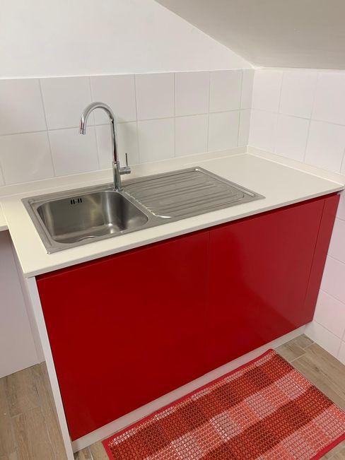 cucina il falegname di Diego Storani CucinaUtensili da cucina Rosso