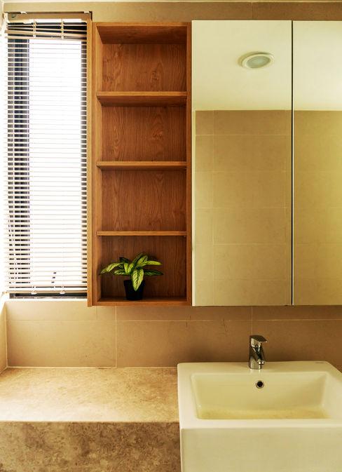 MZH Design Baños de estilo moderno