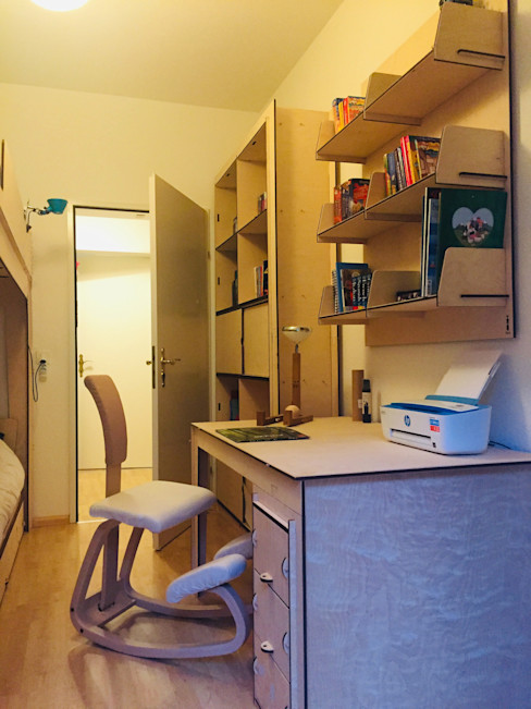 Studio di Architettura, Interni e Design Feng Shui Dormitorios infantiles minimalistas