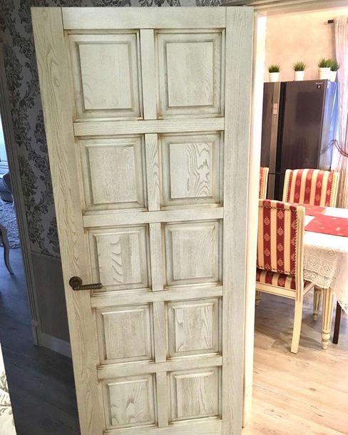 PAPACARLO Puertas de madera Blanco