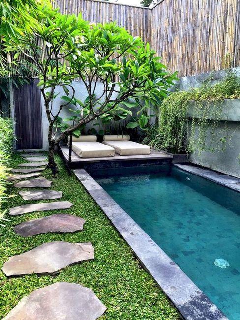 Annanagar villa JAIHO INTERIORS - RESIDENCE & COMMERCIAL INTERIORS Modern pool