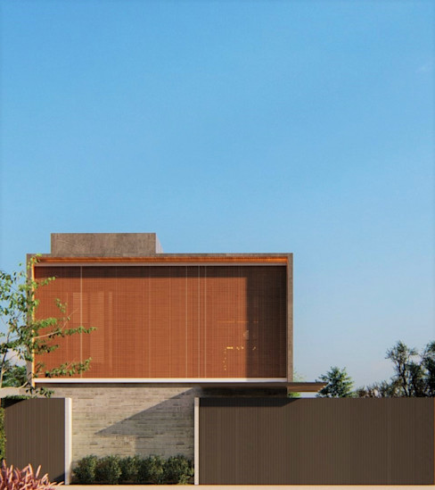 D arquitetura Minimalist house