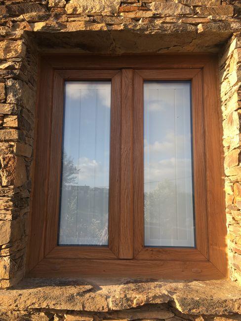 Ecoplan, Lda. uPVC windows Wood effect