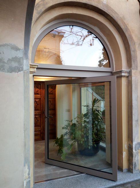 Serramento ad arco Opendoor Italia Porte d'ingresso Ferro / Acciaio Grigio