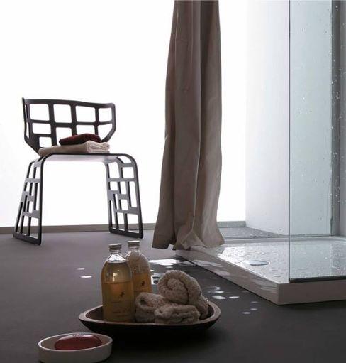 Tende doccia per bagno AISI Design srl Bagno moderno Ferro / Acciaio Grigio