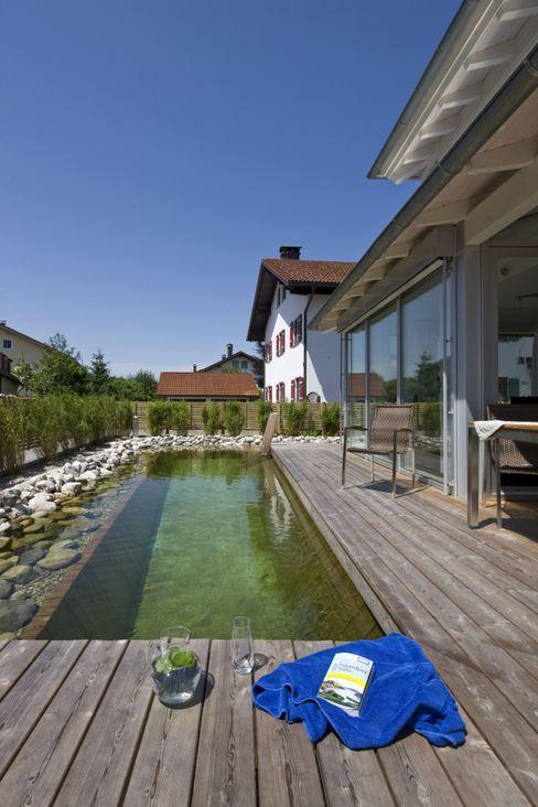 Vitalhaus Traunstein Regnauer Hausbau Schwimmteich