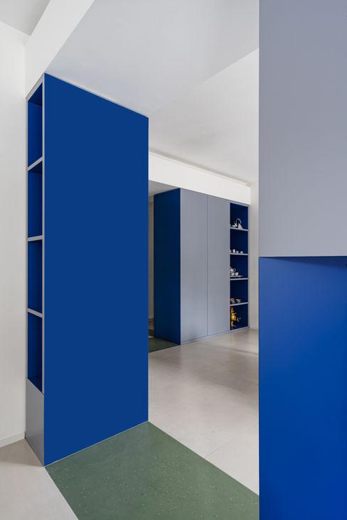 Blu Filippo Ferrarese Photo Soggiorno moderno Blu