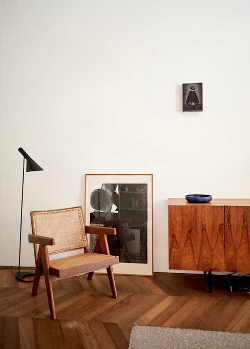 House B&J Heinzel   de Vries Minimalistische woonkamers