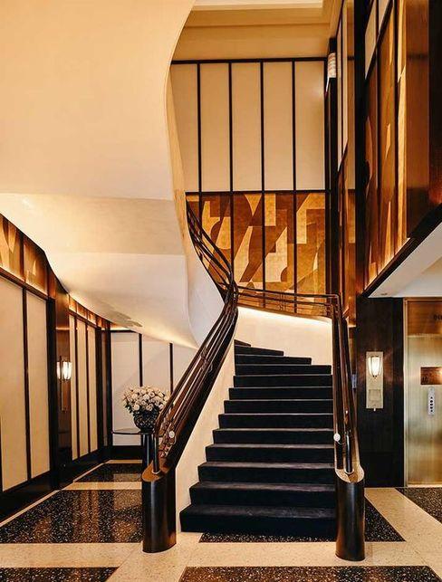 Exklusiver Handlauf, Hudson Yards, New York Siller Treppen/Stairs/Scale Treppe