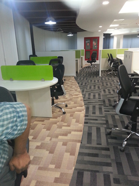 Break Out area S4S Interiors LLP Commercial Spaces