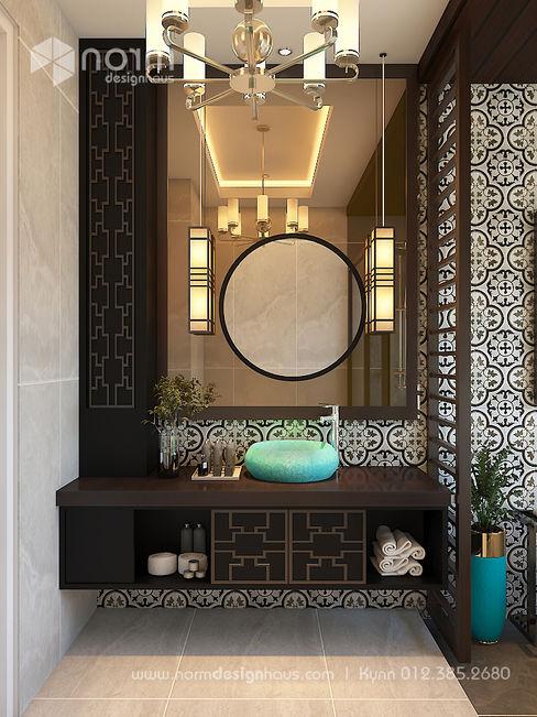 Norm designhaus Baños de estilo asiático Beige