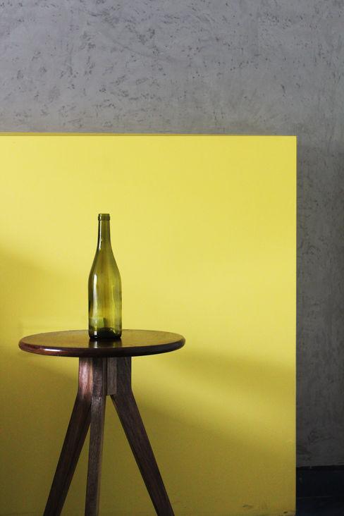 Saniya Nahar Designs Kamar tidur kecil MDF Yellow