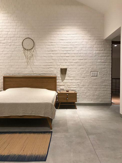 Abode Studios Dormitorios rústicos Ladrillos