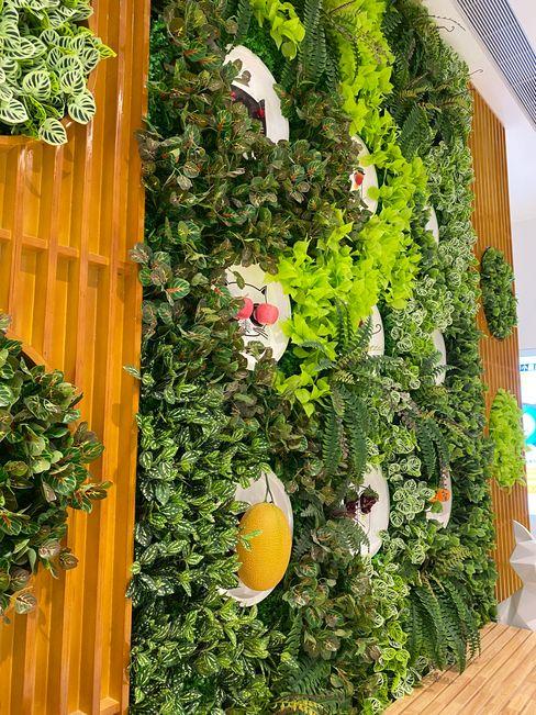 Sunwing Industrial Co., Ltd. Centros comerciales de estilo rural Plástico Verde