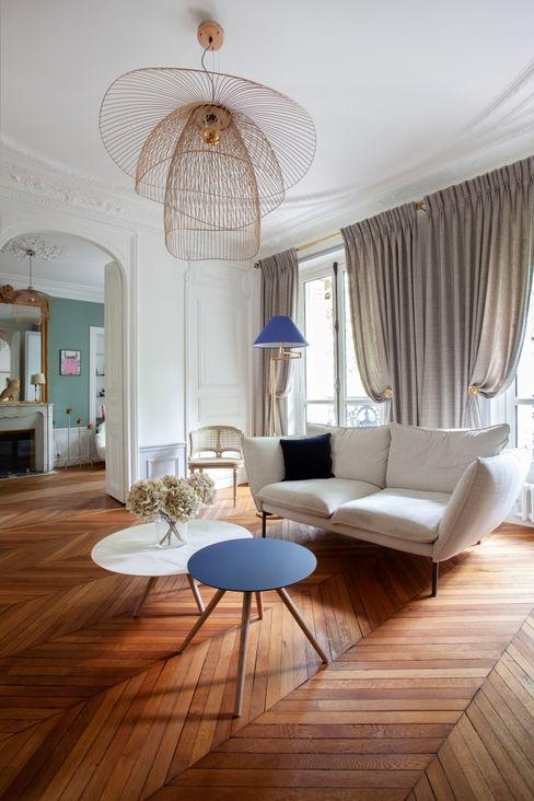 Salon Haussmanien MISS IN SITU Clémence JEANJAN Salon original Bois Blanc