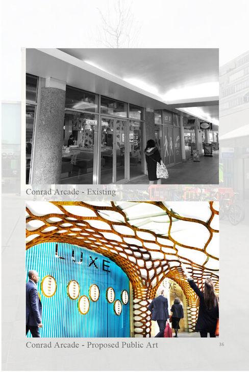 Brunswick Centre THINK NATURE Debbie Flevotomou Architects Ltd. Shopping Centres
