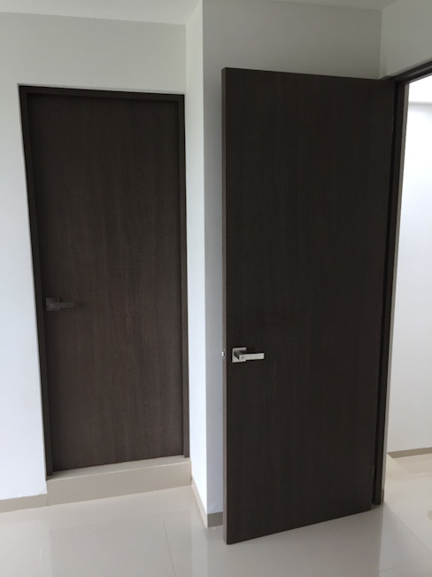 Carpintería Residencial en Casa Villa Magna 9 Interklozet- Cocinas, Closets, Muebles, Puertas en San Luis Potosí Puertas modernas