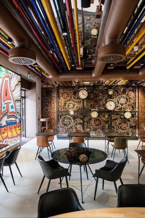LAVAZZA, condividere, sedie Danform Unique italia srl Bar & Club in stile industrial Ferro / Acciaio Variopinto