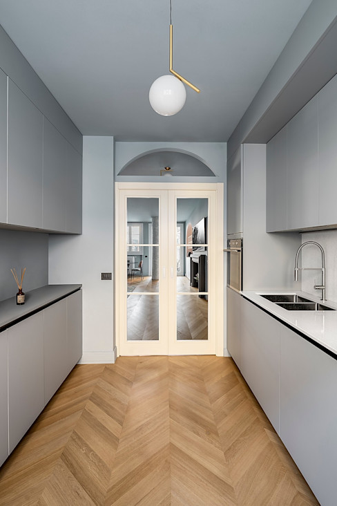 Cucina Galbiati Milano Design Hub Cucina attrezzata Grigio