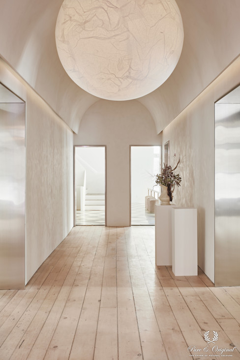 Pure & Original Eclectic style corridor, hallway & stairs