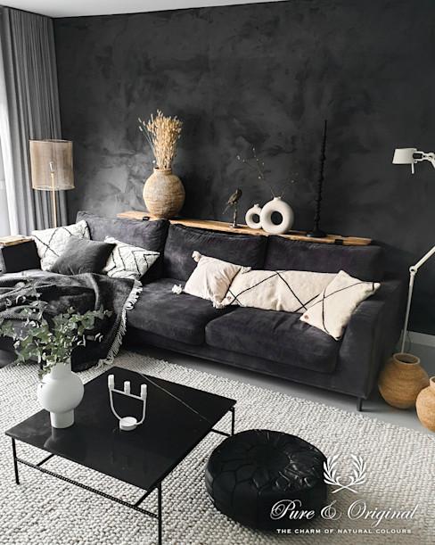 Pure & Original Eclectic style media room