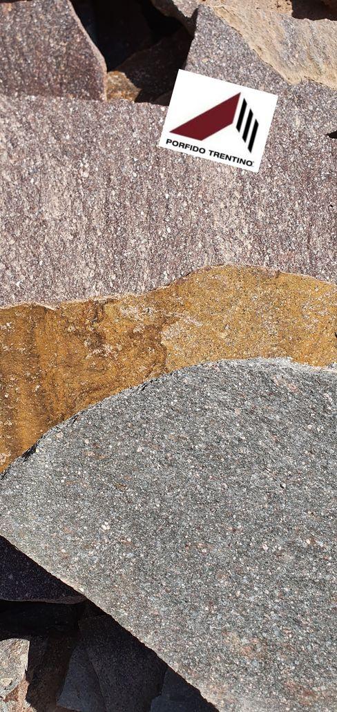 PORFIDO TRENTINO SRL Mediterranean style car dealerships Stone Amber/Gold