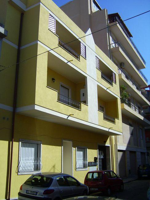 Ristrutturazione immobile condominiale Costruire Service Srl Balcone
