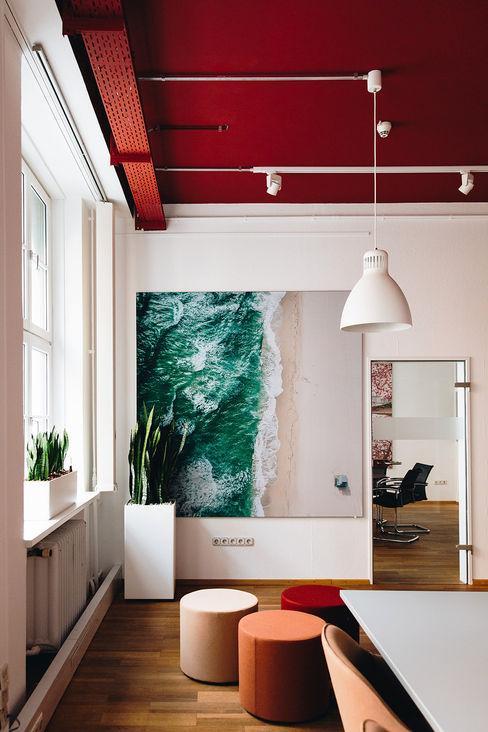 Innenarchitektur Federleicht Office buildings Red