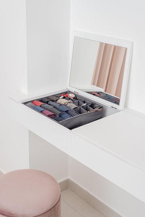 Mobile toeletta manuarino architettura design comunicazione Camera da lettoTolette Legno Bianco