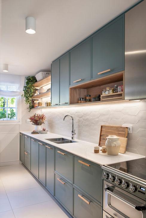 Egue y Seta Nhà bếp phong cách Địa Trung Hải
