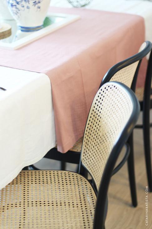 Casa das Salinas 1 | Sala de Jantar Catarina Batista Studio Salas de jantar modernas