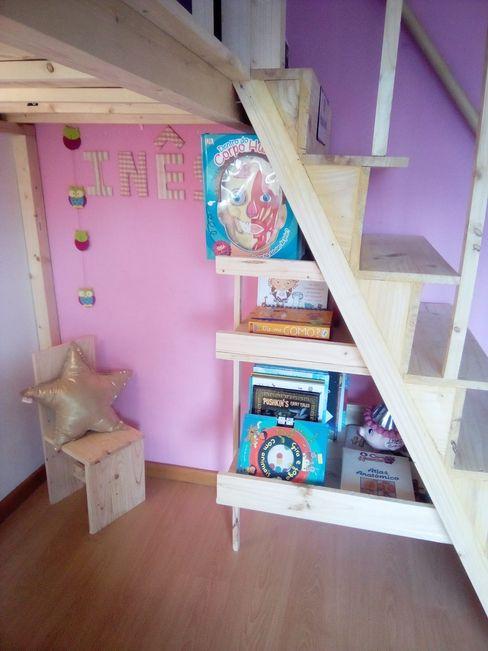 Pintura de interiores/quarto de criança Home 'N Joy Remodelações Quartos de rapariga Rosa