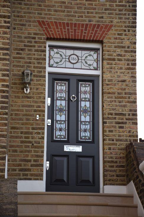 Entrance door Repair A Sash Ltd Front doors Wood Black